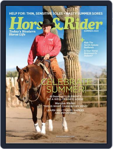 Horse & Rider Magazine (Digital) May 11th, 2020 Issue Cover