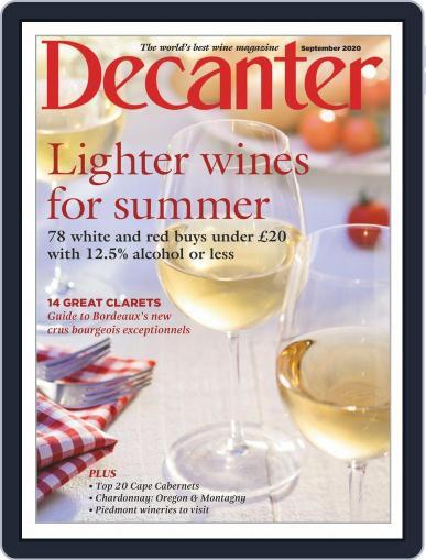 Decanter Magazine (Digital) September 1st, 2020 Issue Cover