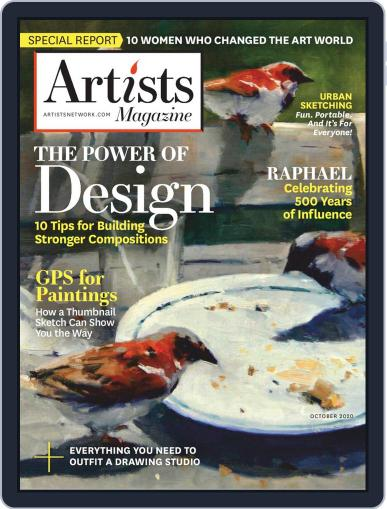 Artists Magazine (Digital) October 1st, 2020 Issue Cover