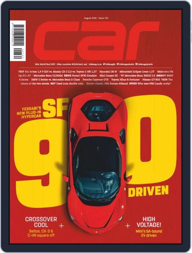 CAR Magazine (Digital) August 1st, 2020 Issue Cover