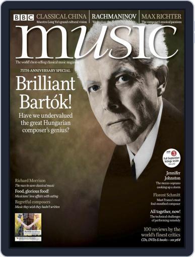 Bbc Music Magazine (Digital) September 1st, 2020 Issue Cover