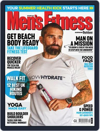 Men's Fitness UK Magazine (Digital) September 1st, 2020 Issue Cover