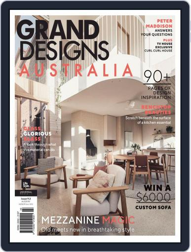 Grand Designs Australia Magazine (Digital) July 1st, 2020 Issue Cover