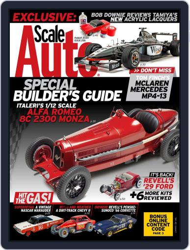 Scale Auto Magazine (Digital) August 1st, 2020 Issue Cover