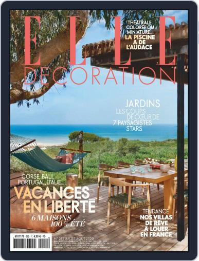Elle Décoration France Magazine (Digital) July 1st, 2020 Issue Cover