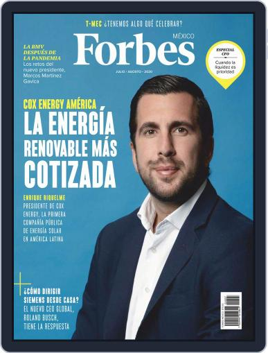 Forbes México Magazine (Digital) July 1st, 2020 Issue Cover