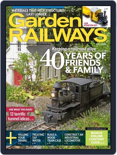 Garden Railways (Digital) July 13th, 2020 Issue Cover