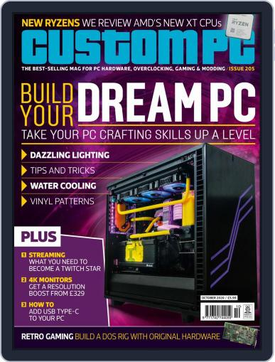 Custom PC UK Magazine (Digital) October 1st, 2020 Issue Cover