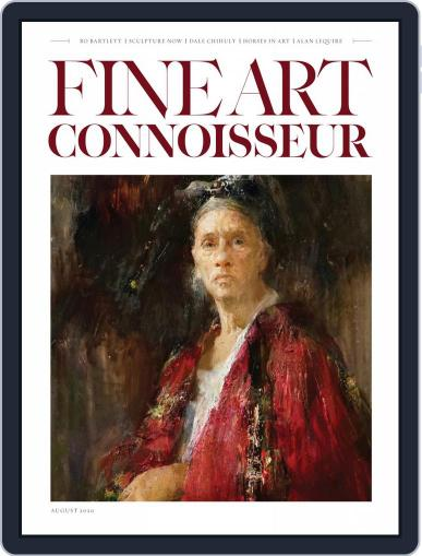 Fine Art Connoisseur Magazine (Digital) July 1st, 2020 Issue Cover