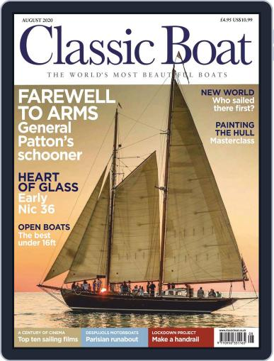 Classic Boat Magazine (Digital) August 1st, 2020 Issue Cover