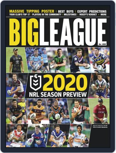 Big League Weekly Edition (Digital) February 1st, 2020 Issue Cover