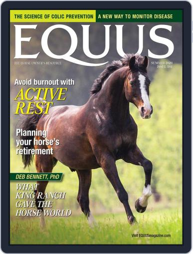 Equus Magazine (Digital) May 18th, 2020 Issue Cover