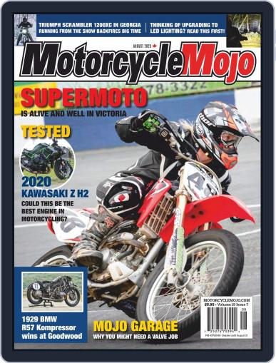 Motorcycle Mojo Magazine (Digital) August 1st, 2020 Issue Cover