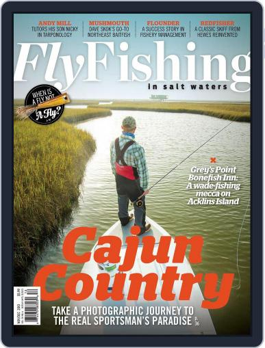 Fly Fishing In Salt Waters (Digital) October 19th, 2013 Issue Cover
