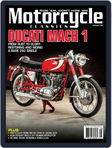 Motorcycle Classics Magazine (Digital) July 1st, 2020 Issue Cover