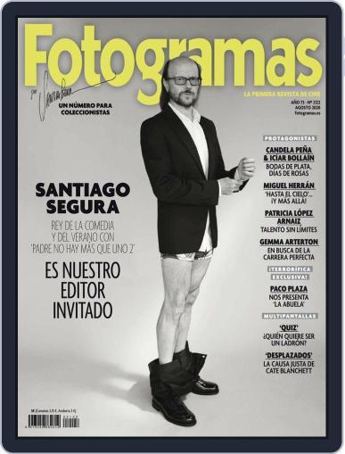Fotogramas Magazine (Digital) August 1st, 2020 Issue Cover