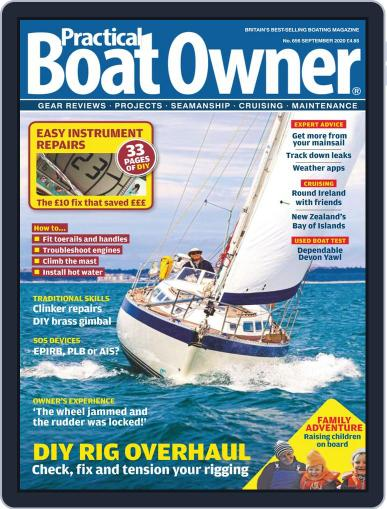 Practical Boat Owner Magazine (Digital) September 1st, 2020 Issue Cover