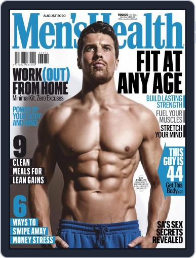 Men's Health South Africa (Digital) August 1st, 2020 Issue Cover