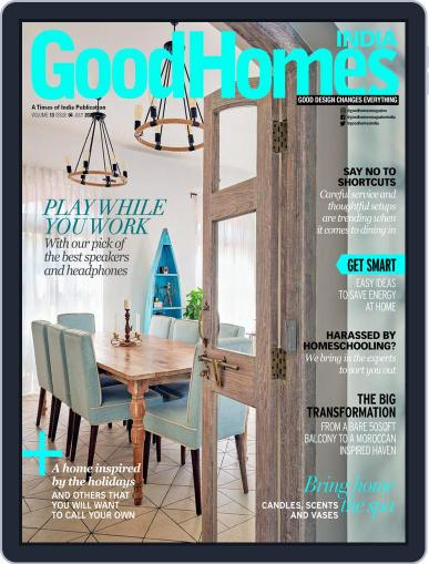 GoodHomes India Magazine (Digital) July 1st, 2020 Issue Cover