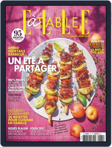 ELLE à Table Magazine (Digital) July 1st, 2020 Issue Cover