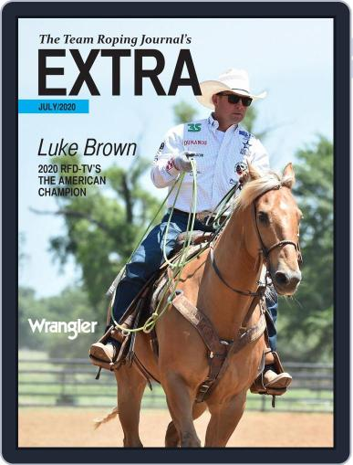 The Team Roping Journal Magazine (Digital) July 20th, 2020 Issue Cover
