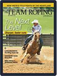 The Team Roping Journal Magazine (Digital) Subscription September 1st, 2020 Issue