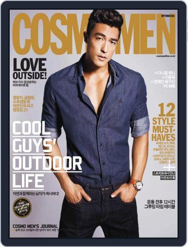 Cosmo Men Korea (Digital) September 1st, 2013 Issue Cover