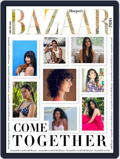 Harper's Bazaar India Magazine (Digital) June 1st, 2020 Issue Cover