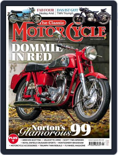 The Classic MotorCycle Magazine (Digital) September 1st, 2020 Issue Cover
