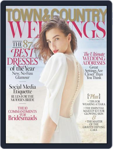 Town & Country Weddings (Digital) April 1st, 2014 Issue Cover