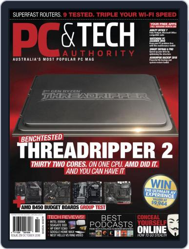 PC & Tech Authority (Digital) October 1st, 2018 Issue Cover