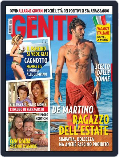 Gente Magazine (Digital) August 22nd, 2020 Issue Cover