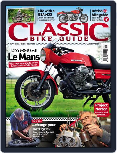 Classic Bike Guide Magazine (Digital) August 1st, 2020 Issue Cover