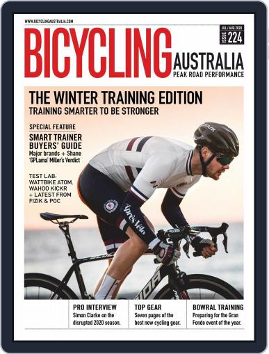 Bicycling Australia Magazine (Digital) July 1st, 2020 Issue Cover