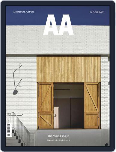 Architecture Australia Magazine (Digital) July 1st, 2020 Issue Cover