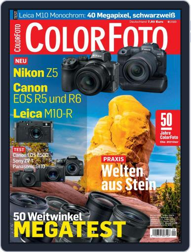 Colorfoto Magazine (Digital) September 1st, 2020 Issue Cover