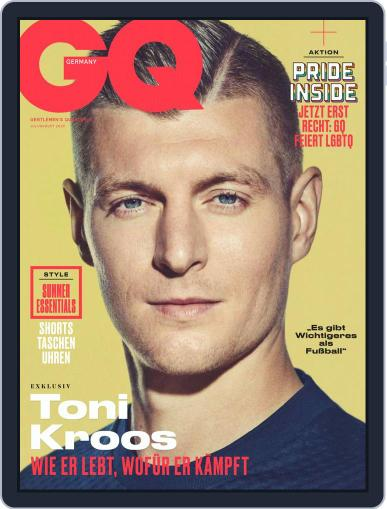 GQ (D) Magazine (Digital) July 1st, 2020 Issue Cover