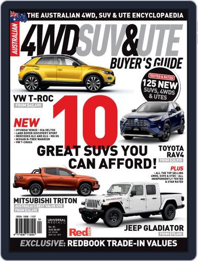 Australian 4WD & SUV Buyer's Guide Magazine (Digital) May 1st, 2020 Issue Cover