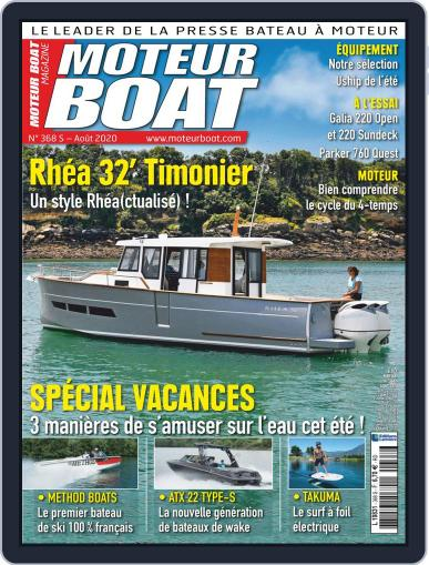 Moteur Boat Magazine (Digital) July 10th, 2020 Issue Cover
