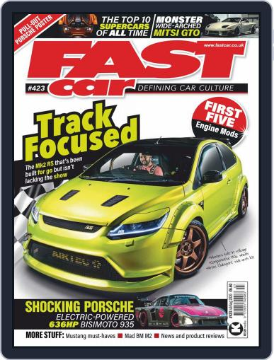 Fast Car Magazine (Digital) August 1st, 2020 Issue Cover