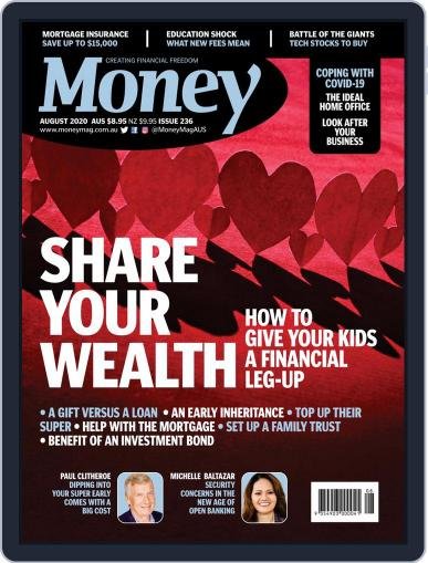 Money Australia Magazine (Digital) August 1st, 2020 Issue Cover