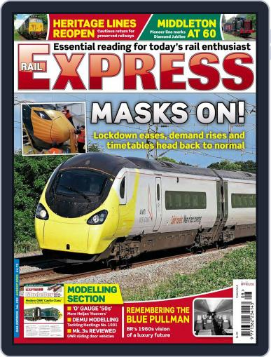 Rail Express Magazine (Digital) August 1st, 2020 Issue Cover