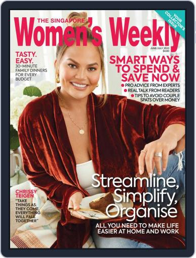 Singapore Women's Weekly Magazine (Digital) June 1st, 2020 Issue Cover