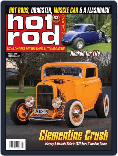 NZ Hot Rod Magazine (Digital) August 1st, 2020 Issue Cover
