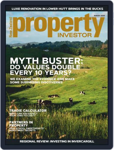 NZ Property Investor Magazine (Digital) August 1st, 2020 Issue Cover