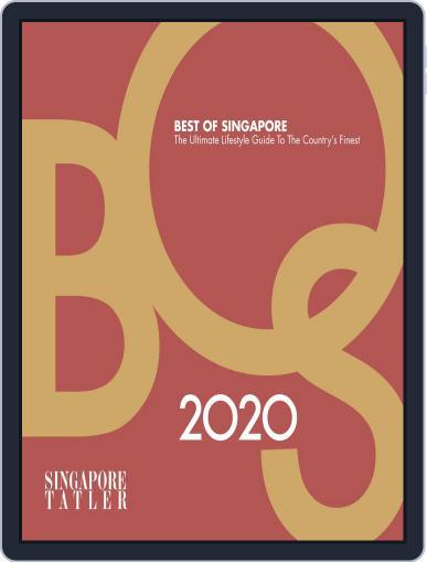 Singapore Tatler Best Of Singapore Magazine (Digital) February 3rd, 2020 Issue Cover