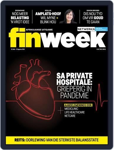 Finweek - Afrikaans Magazine (Digital) July 30th, 2020 Issue Cover