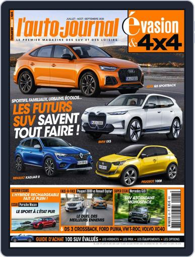 L'Auto-Journal 4x4 Magazine (Digital) July 1st, 2020 Issue Cover