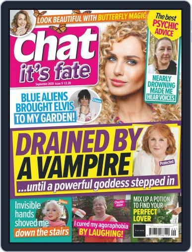 Chat It's Fate Magazine (Digital) September 1st, 2020 Issue Cover