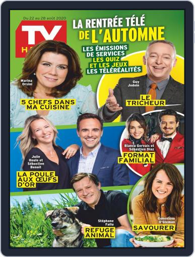 Tv Hebdo Magazine (Digital) August 22nd, 2020 Issue Cover